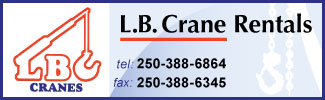 3: Visit this advertisers web site at www.lbcrane.ca (Opens in a new window)